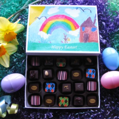 Bellafina Chocolates Young Artist Easter Rainbow