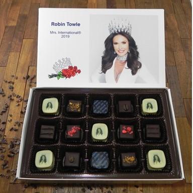 Bellafina Chocolates Pageant photo box