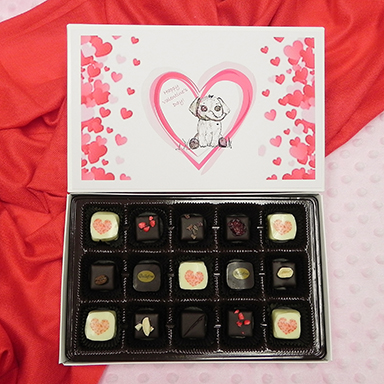 Bellafina Chocolates WVR Vday 15pc