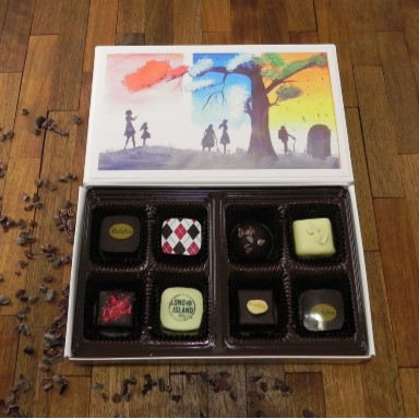 Bellafina Chocolates Taraloka Seasons 8pc