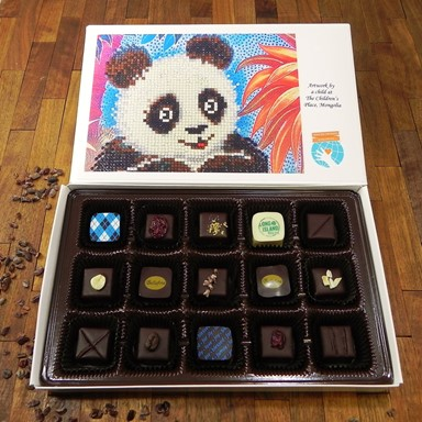 Bellafina Chocolates SOW Panda 15pc