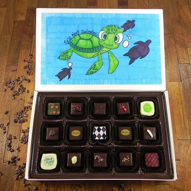 Bellafina Chocolates YV Just Keep Swimming 15pc