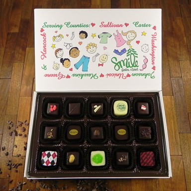 Bellafina Chocolates SMILE Foster Closet 15pc